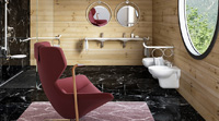badezimmerentwurf
