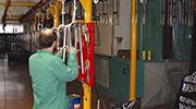 Produktion Bäder für Behinderte