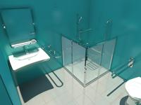 badezimmerplanung für behinderte dwg
